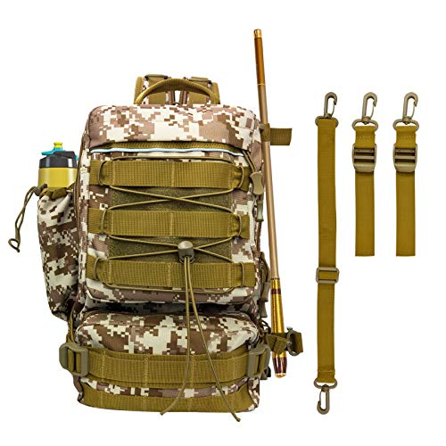 DOUBFIVSY Fishing Tackle Backpack, 14.6 * 9.1 * 5.5 inch Waterproof Tackle...