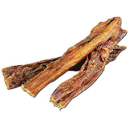 Euter Softsticks 500g Ideal auch für Junge Hunde und Senioren Rinderdörrfleisch Sehr hart und zäh Aber Nicht brüchig oder splitternd