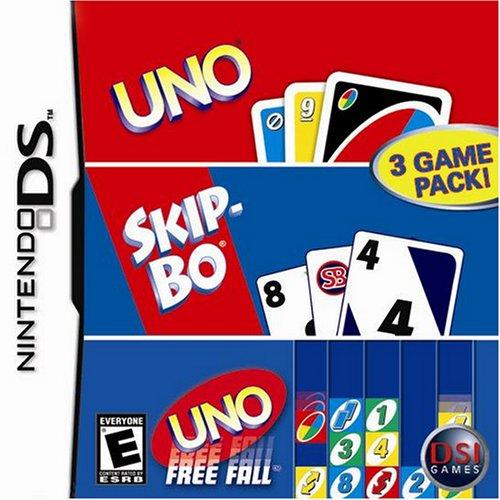 Uno/Skip-Bo/Uno Freefall - Nintendo DS [video game]