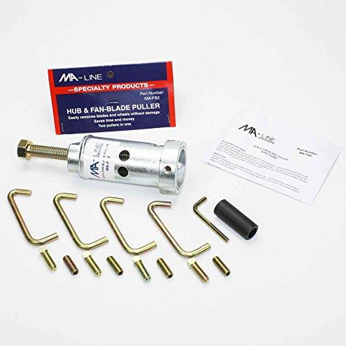 MA-FB2 - New Heavy Duty Steel MA-Line MALine Motor Blower Wheel Fan Blade Puller