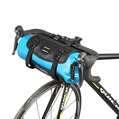 Roswheel 7L 100% Full Waterproof Bicycle Bag Bike Handlebar Front Bag MTB Road Cycling Bike Front Tube Basket Panniers Bycicle Accessories