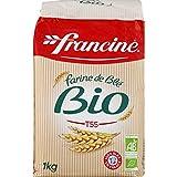 Francine Farine de Ble Bio - French All Purpose Organic Wheat Flour - 2.2 lbs