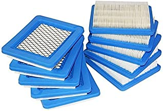 Podoy 00424 Air Filter Replacement Compatible with Briggs Stratton 491588 491588S 4915885 399959, John Deere PT15853 Oregon 30-7104915885 399959, John Deere PT15853 Oregon 30-710 Pack of 10