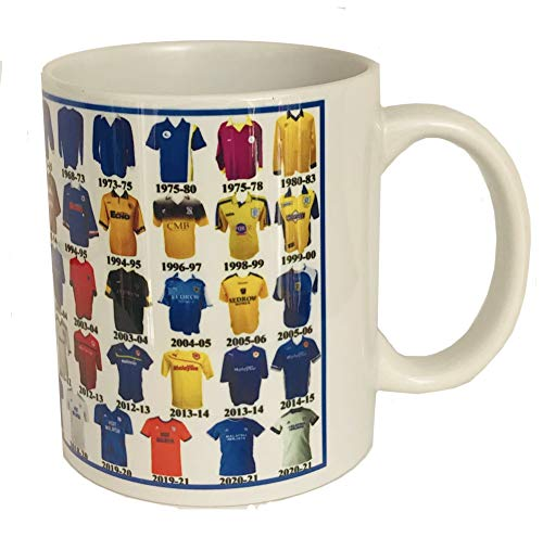 Cardiff City Mug Shirt History Football Mug