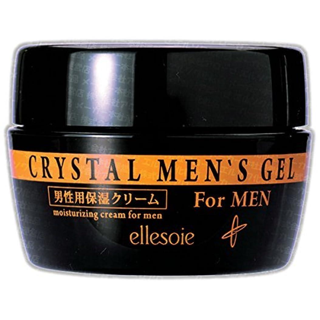 スカリー欠如癌エルソワ化粧品(ellesoie) クリスタル メンズゲル 男性向けオールインワン