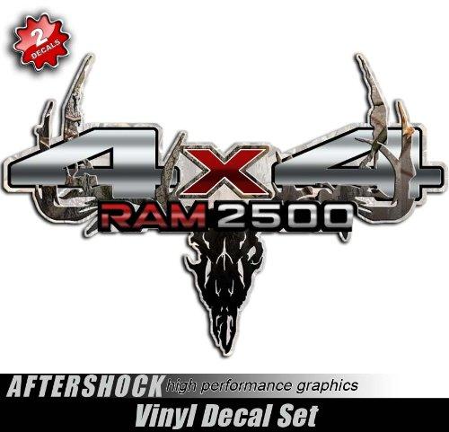 Decals 4x4 Ram 2500 Truck Camo Skull Archery Sticker