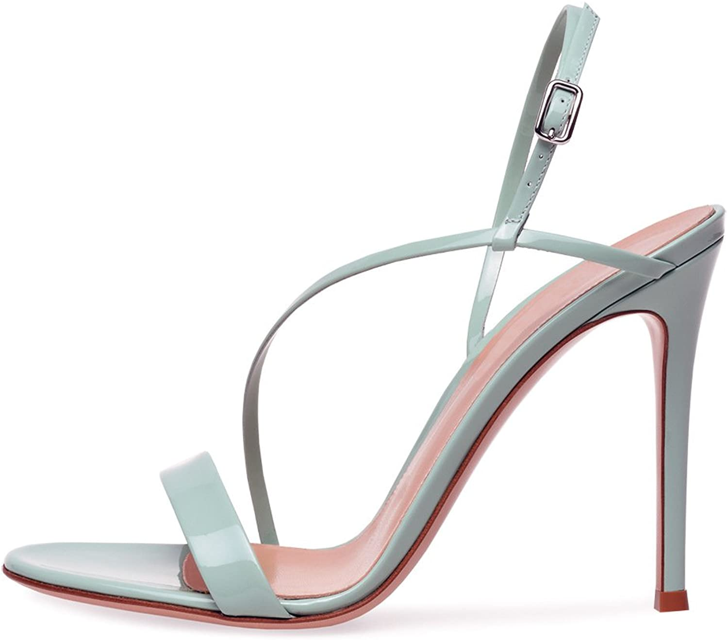 Exing Womens's shoes New European and American Ladies Sandals Fashion Super High Heel Sandals Peep Toe Dinner Party shoes Sandals