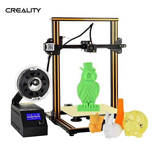 Aibecy Creality 3D CR-10 3D DIY Printer 300 * 300 * 400mm Print Size Aluminum Frame with 200g Filament Supports PLA/ABS/TPU/Copper/Wood/Carbon Fiber Filament