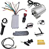 TDPRO Set of 48V 1800W Brushless Electric Motor Controller Throttle Pedal Wiring Harness Charger Plug Chain Ignition Key for Go Kart Scooter E-Bike Motorized Bicycle ATV Mini Bike