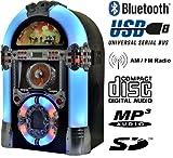 Legend 501 Jukebox multimédia Bluetooth, USB, SD, CD MP3, radio