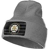 LL-Shop Armée Air Defense Artillerie Guerre du Golfe Désert Tempête Vétéran Bonnet Tricot Bonnet Chapeau Crâne Cap Tricoté Chaud Chapeaux d'hiver