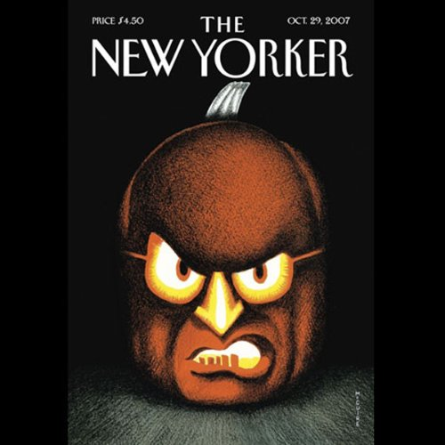The New Yorker (October 29, 2007) audiobook cover art