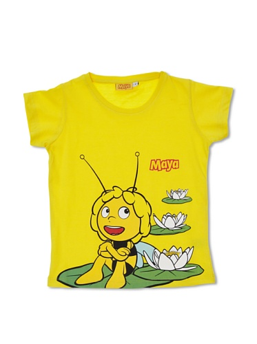 Madness Camiseta Manga Corta Abeja Maya Amarillo 8 años (128 cm)
