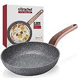 Ubbe | Ultrachef Sartén con Revestimiento Antiadherente de Piedra de Alemania 100% libre de PFOA. 24cm.