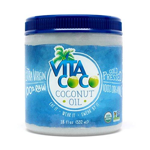 Vita Coco Organic Virgin Coconut Oil, 18 Fluid Ounce, 2 Count