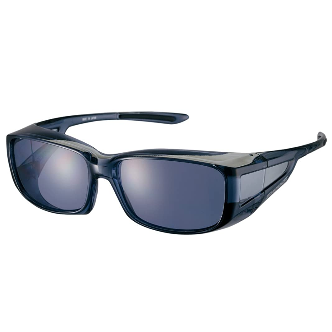 バン小川クラシック【石川遼プロ愛用ブランド】SWANS(スワンズ) サングラス メガネの上からかける オーバーグラス OG4