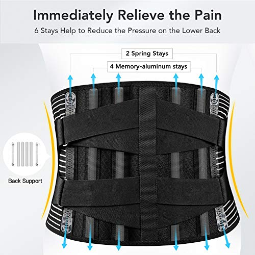 FREETO Back Brace For Back Relief