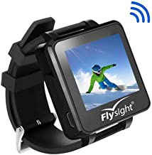 Flysight 5.8Ghz FPV RC Video Drone Watch 32CH 2 Inch Wireless Receiver FPV Mini Drone Monitor Watch 960 x 240 HD Wearable Display Screen Watch for DIY RC Camera Helicopter Quadcopter Drone Airplane