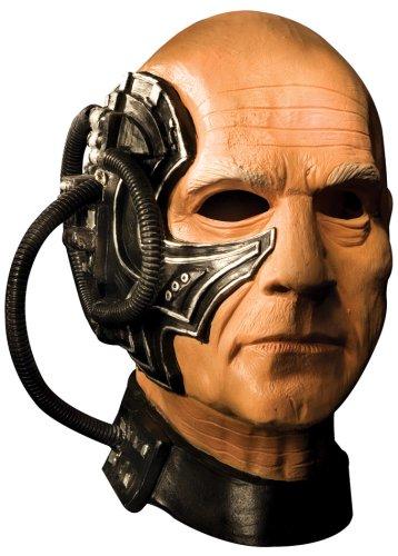 Star Trek Locutus DLX Latex Maske Trekki Gr. STD
