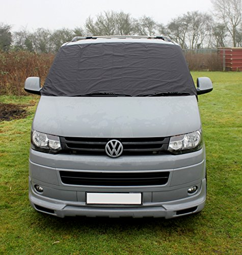 Price comparison product image VW T5 Transporter Window Front Screen Curtain Wrap Cover Frost Protection Blinds (VW T5)
