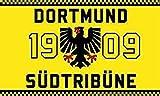 U24 Fahne Flagge Dortmund Südtribüne II 90 x 150 cm