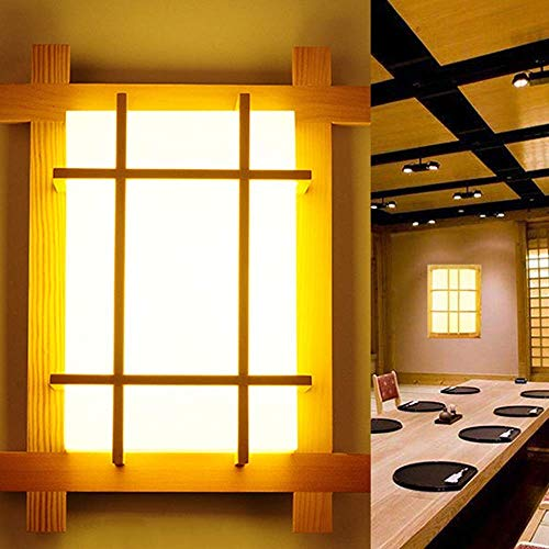 Lantaarn wandlamp kristal spiegel verlichting binnen bedlampje creatieve verlichting solide Japanse wandverlichting vierkante verlichting huis verlichting