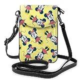 Amor flores teléfono móvil bolso bandolera viaje Daypack mujeres niñas fiesta regalo
