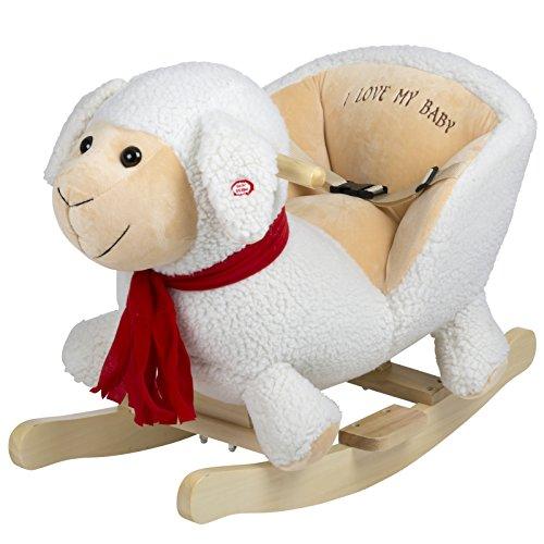 BabyGo Rocker Schaukeltier Schaf - Schaukelschaf Sheep ab 6 Monaten