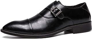 [DOUERY LTD] ビジネスシューズ メンズ?レースアップ ローファー ポインテッドトゥ おしゃれ カジュアル 28.5cm 革靴 ウォーキング 防滑 軽量 黒 タッセル スリッポン フォーマル カジュアルブラック26cm 25cm
