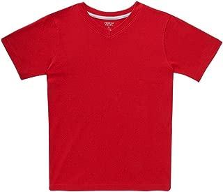 Boys' Short Sleeve V-Neck Tee