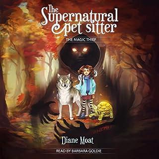 The Supernatural Pet Sitter audiobook cover art