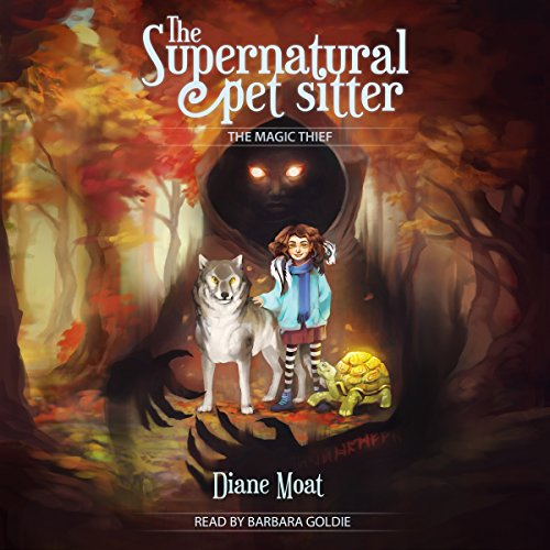The Supernatural Pet Sitter audiobook cover art