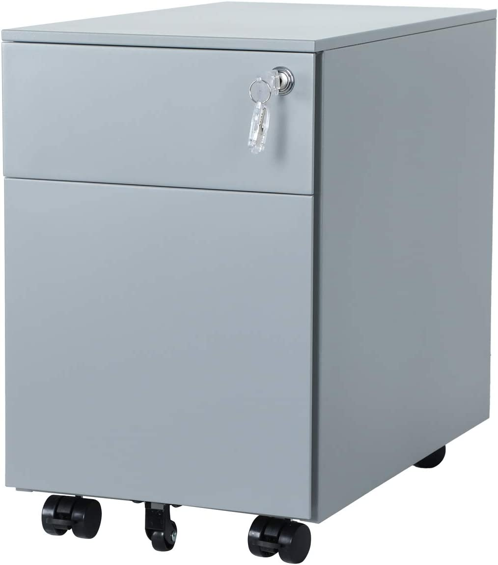 AITERMINAL Steel File Cabinet with Lock Drawers Key 2 excellence New Free Shipping Mobile Cas