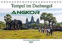 Tempel im Dschungel, Angkor (Tischkalender 2022 DIN A5 quer): Die Tempelanlage Angkor hat viel mehr zu bieten als Angkor Wat (Monatskalender, 14 Seiten )