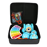 co2CREA Hart Reise Schutz Hülle Etui Tasche für Wonder Workshop Dash Robot + Dot Creativity Kit + Xylophone + Katapult Kits (hülle) (schwarz 2)