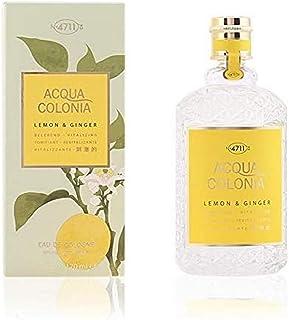 4711Acqua Colonia Unisexe Eau de Cologne Spray, Citron et gingembre 50ml