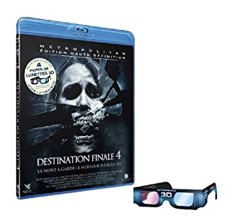 Destination finale 4 + 4 paires de lunettes 3D [Blu-ray] (B002XG8KYM) | Amazon price tracker / tracking, Amazon price history charts, Amazon price watches, Amazon price drop alerts