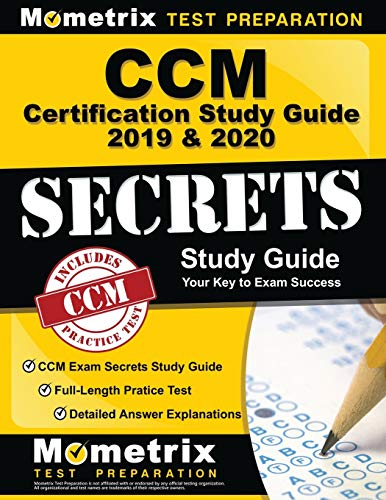 CCM Certification Study Guide 2019 …