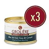 3 Blocs de Foie Gras de Canard 65 g