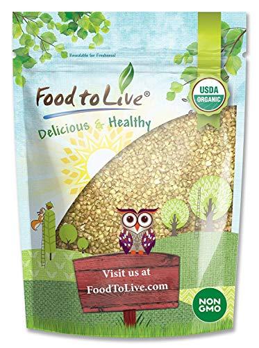 Semole di grano saraceno biologico, 3 Libbre - mondate, non OGM, cascine, crude, vegane, sfuse