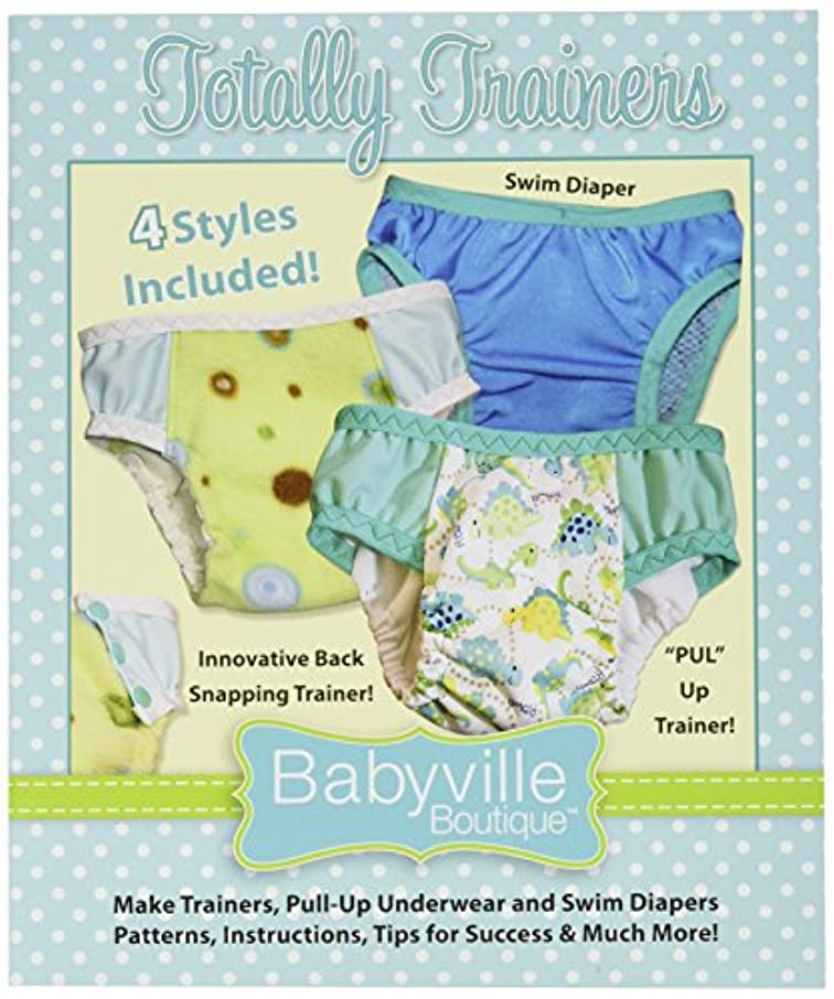 Babyville Boutique Totally Trainers Pattern Booklet