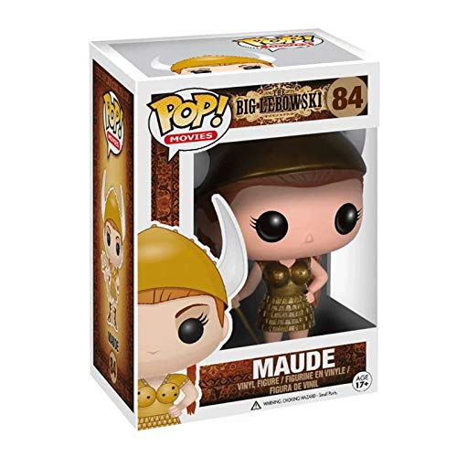 Funko Pop Movie : The Big Lebowski - Maude 3.9inch Vinyl Gift for Boys Movie Fans Model