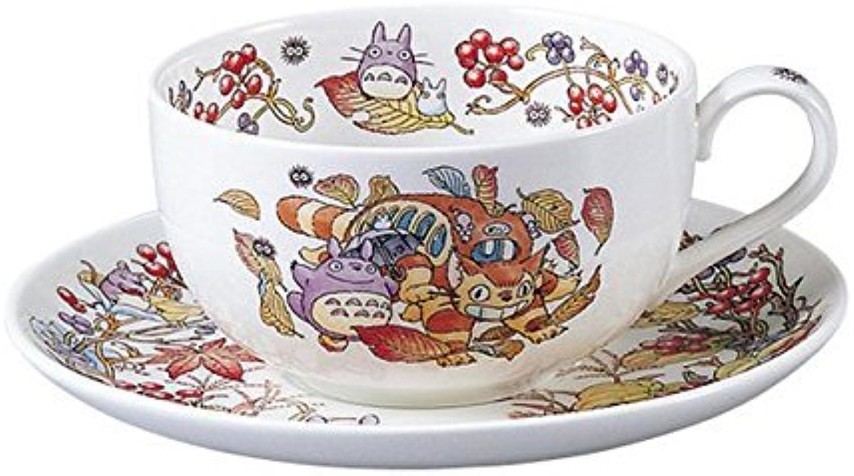 Noritake X Studio Ghibli Neighbor Totgold Tea Cup and Saucer T97285A 4660-6