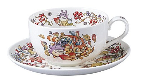 Noritake X Studio Ghibli Neighbor Totoro Tea Cup and Saucer T97285A/4660-6