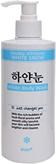 Nella Oneday Whitener, White Body Wash, Korean Beauty, 400 ml
