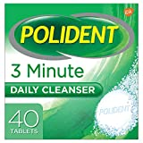 Polident Polident 3-Minute Antibacterial Denture Cleanser, 40 tabs by Polident