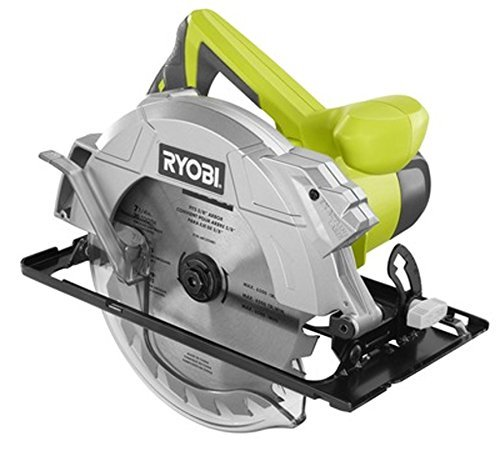 Ryobi 14 Amp 7-1/4 Adjustable Electric Circular Saw w/Exactline Laser | CSB135L by Ryobi