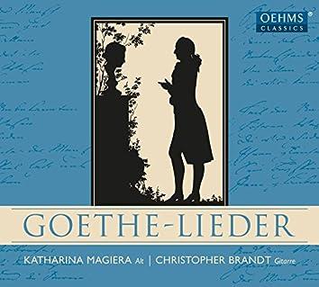 Goethe-Lieder (Arr. C. Brandt for Voice & Guitar)