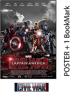 Captain America: Civil War - Movie Poster, Size 24 x 36