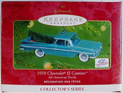 Hallmark QX6072 All American Trucks 1959 Chevrolet El Camino Keepsake Ornament